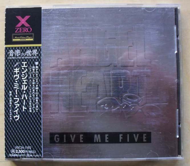ANGEL HEART - Give Me Five (japan)
