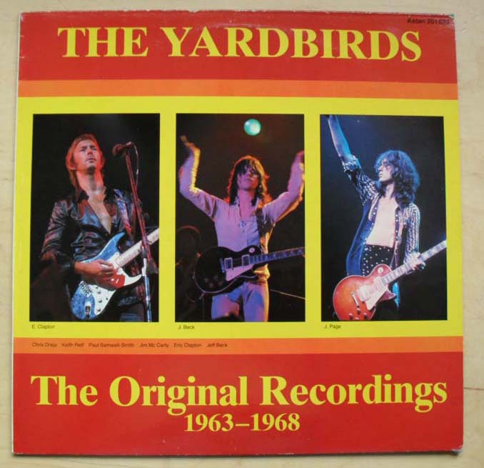 YARDBIRDS - ORIGINAL RECORDINGS 1963-1968