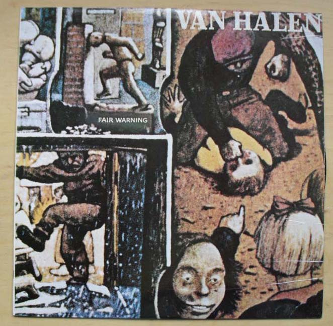 VAN HALEN - FAIR WARNING(PORTUGAL)