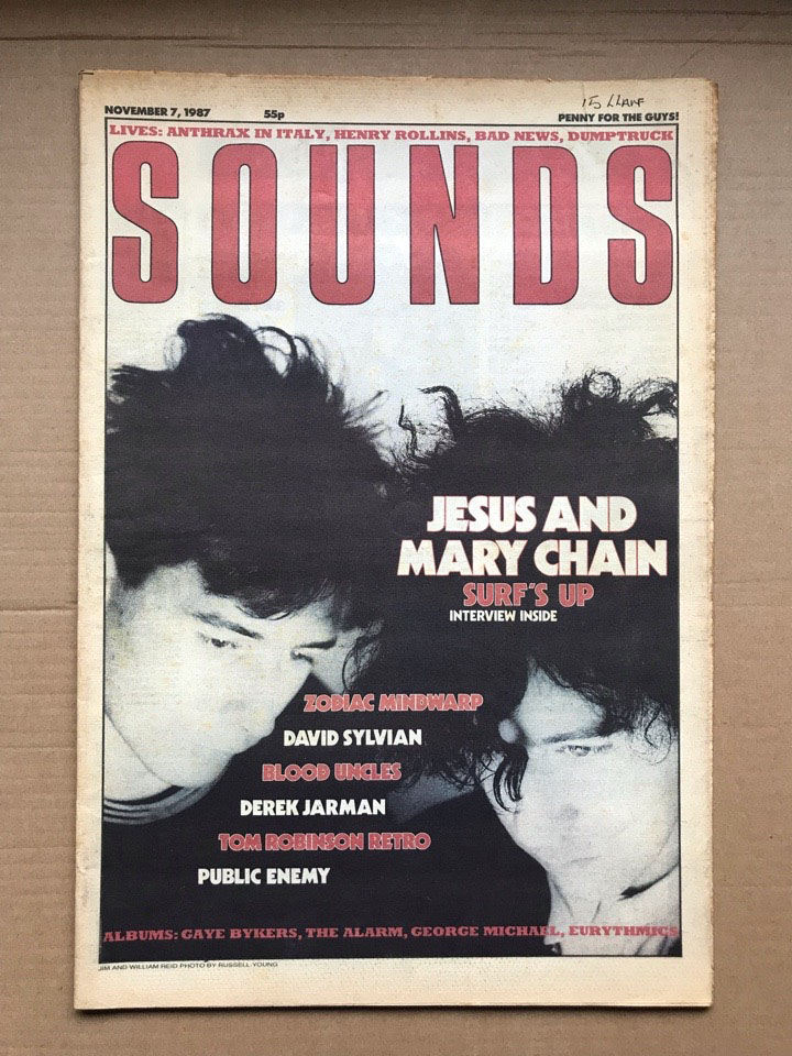 JESUS AND MARY CHAIN - SOUNDS - Magazine