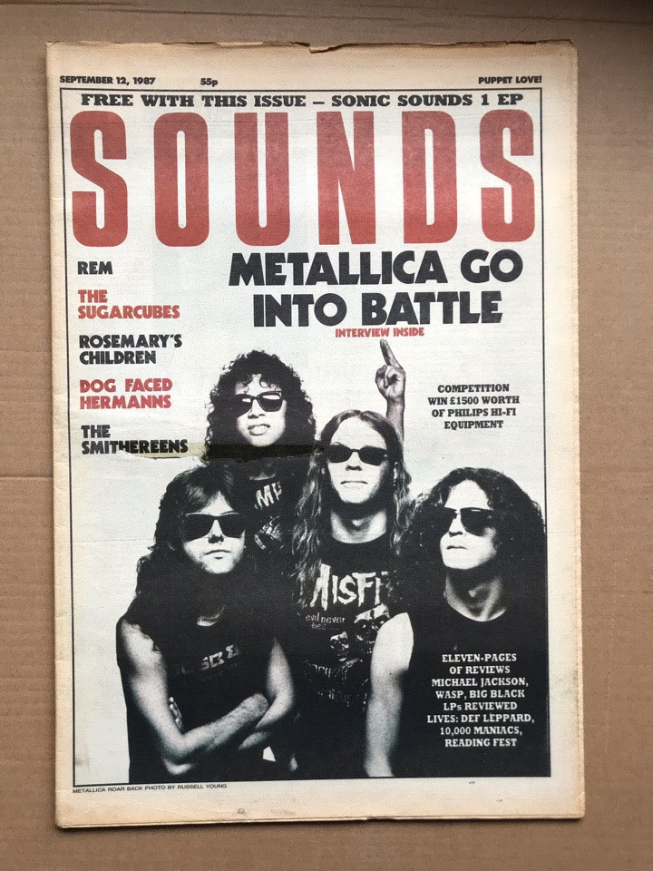 METALLICA - SOUNDS - Magazine