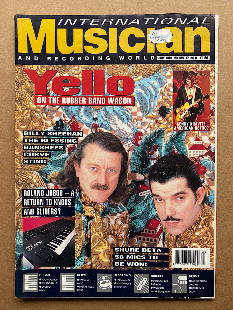 YELLO - INTERNATIONAL MUSICIAN