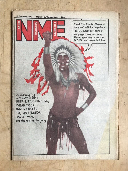 VILLAGE PEOPLE - NME - Magazine