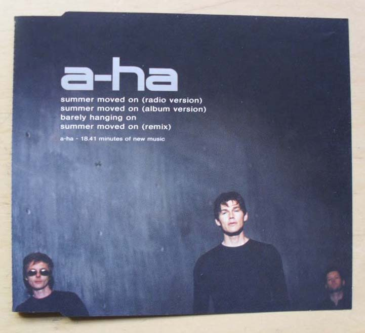 A-HA - SUMMER MOVED ON