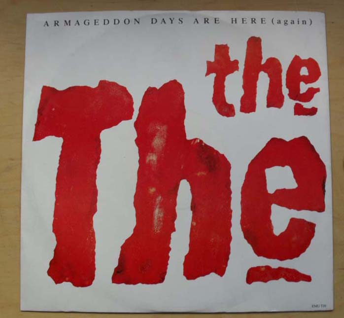 THE THE - ARMAGEDDON DAYS ARE HERE - Maxi x 1