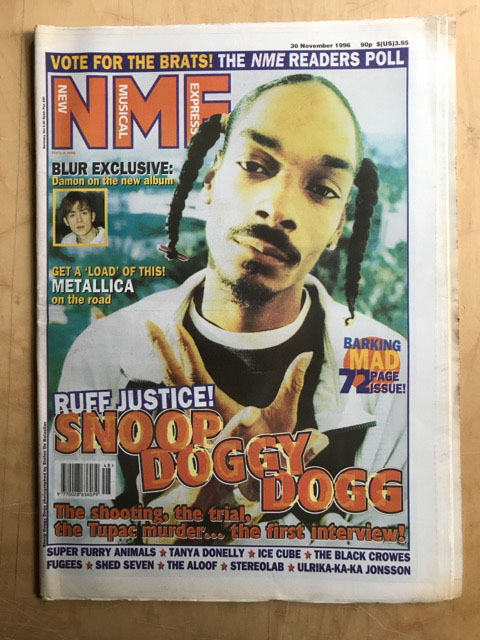 SNOOP DOGGY DOG - NME - Magazine