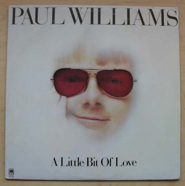 PAUL WILLIAMS - A Little Bit Of Love Record