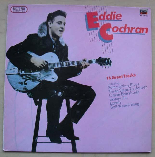 EDDIE COCHRAN - 16 GREAT TRACKS