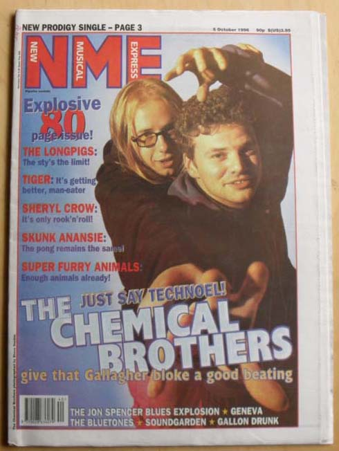 CHEMICAL BROTHERS - NME - Magazine