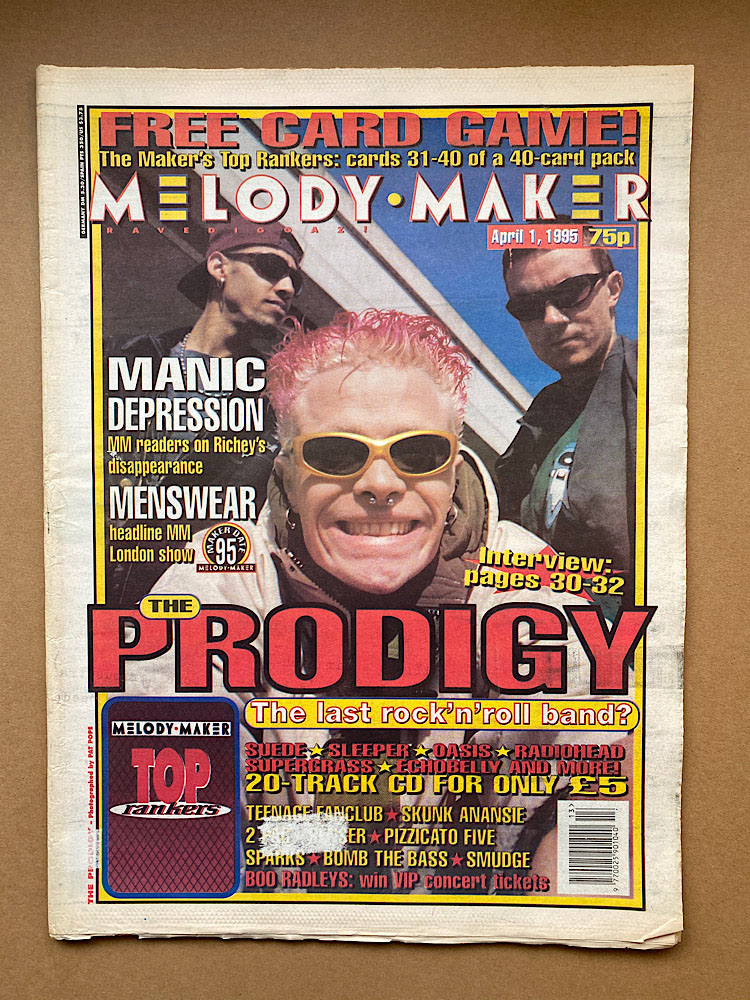 PRODIGY - MELODY MAKER - Magazine