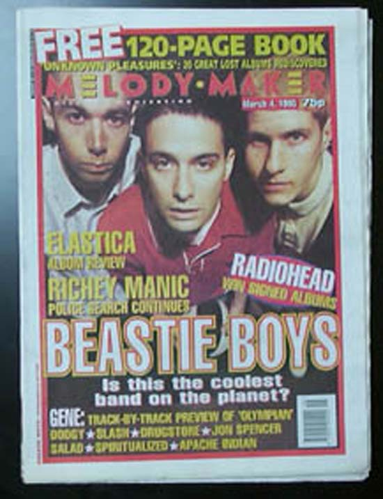 BEASTIE BOYS - MELODY MAKER - Magazine