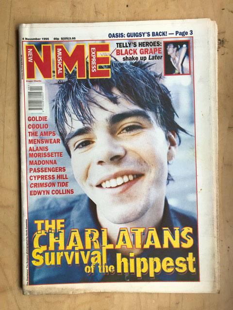 CHARLATANS - NME - Magazine