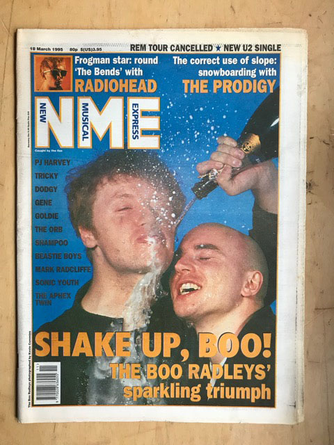 BOO RADLEYS - NME - Magazine
