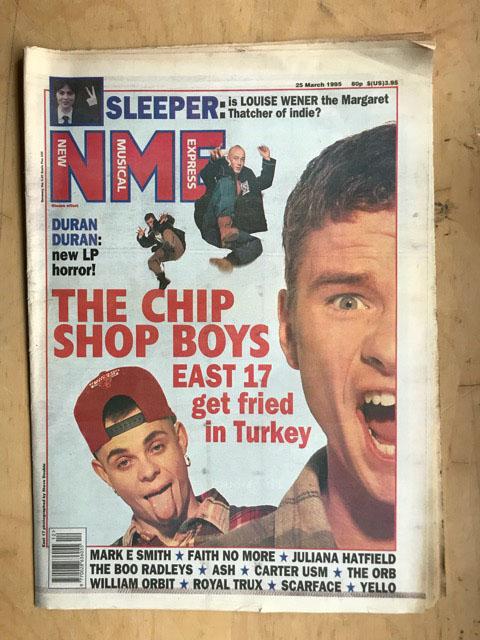 EAST 17 - NME