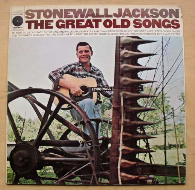 STONEWALL JACKSON - Great Old Songs