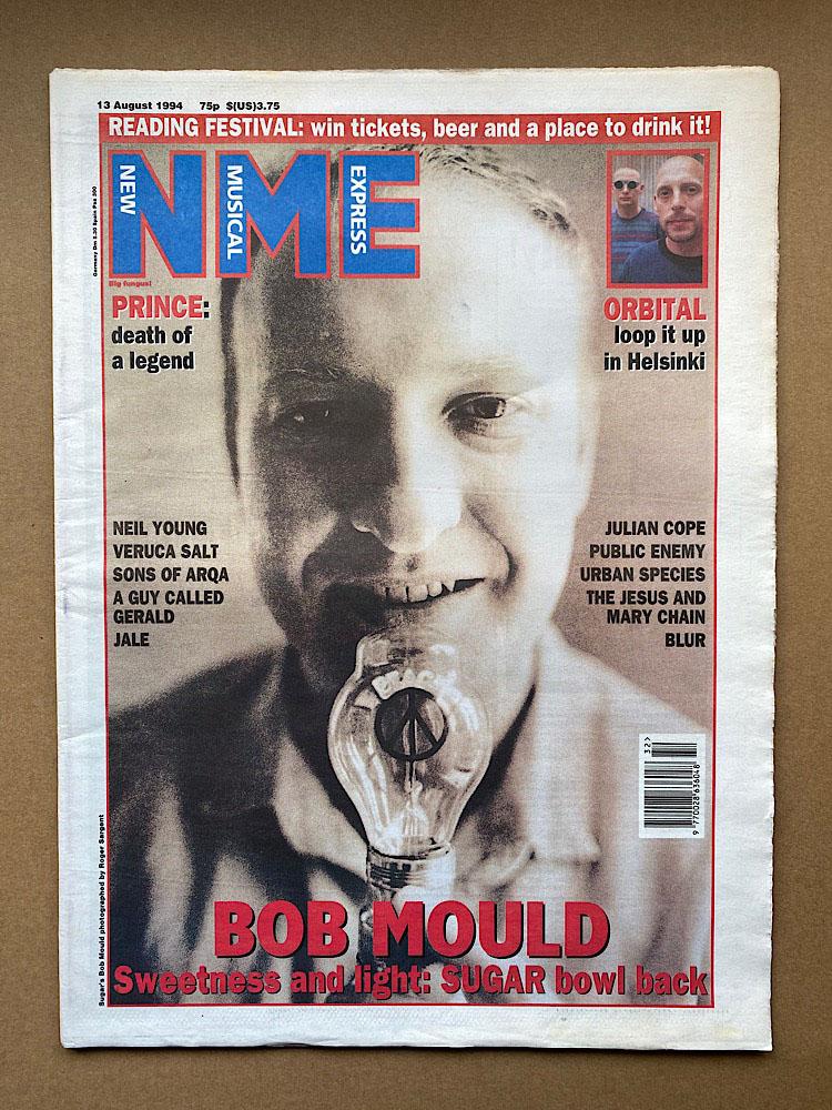 BOB MOULD - NME - Magazine