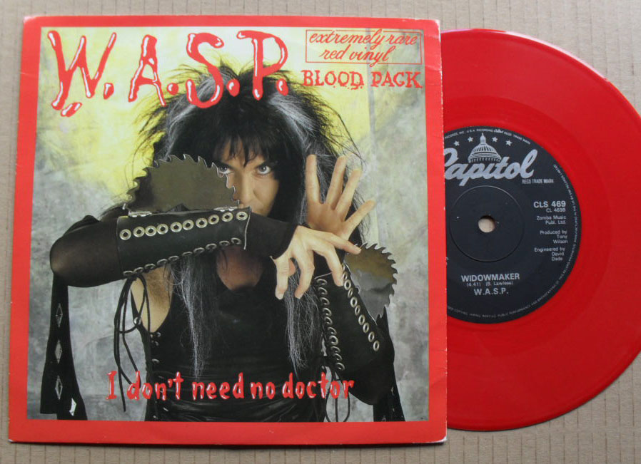 WASP - I DON'T NEED NO DOCTOR (RED)