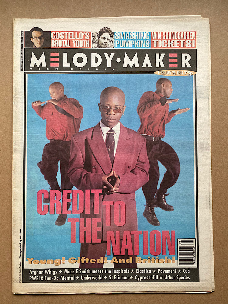 CREDIT TO THE NATION - MELODY MAKER - Magazine