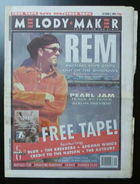 R.E.M. - MELODY MAKER