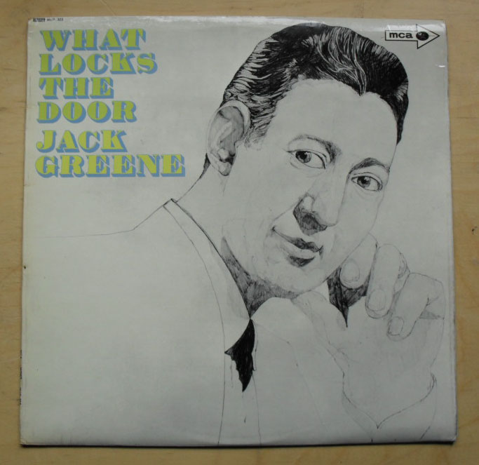 JACK GREENE - What Locks The Door LP