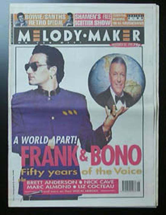 U2 - MELODY MAKER