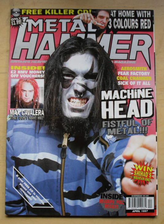 MACHINE HEAD - METAL HAMMER