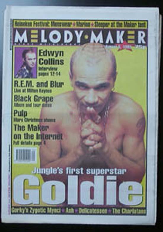 GOLDIE - MELODY MAKER - Magazine
