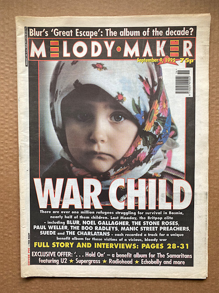 WAR CHILD - MELODY MAKER