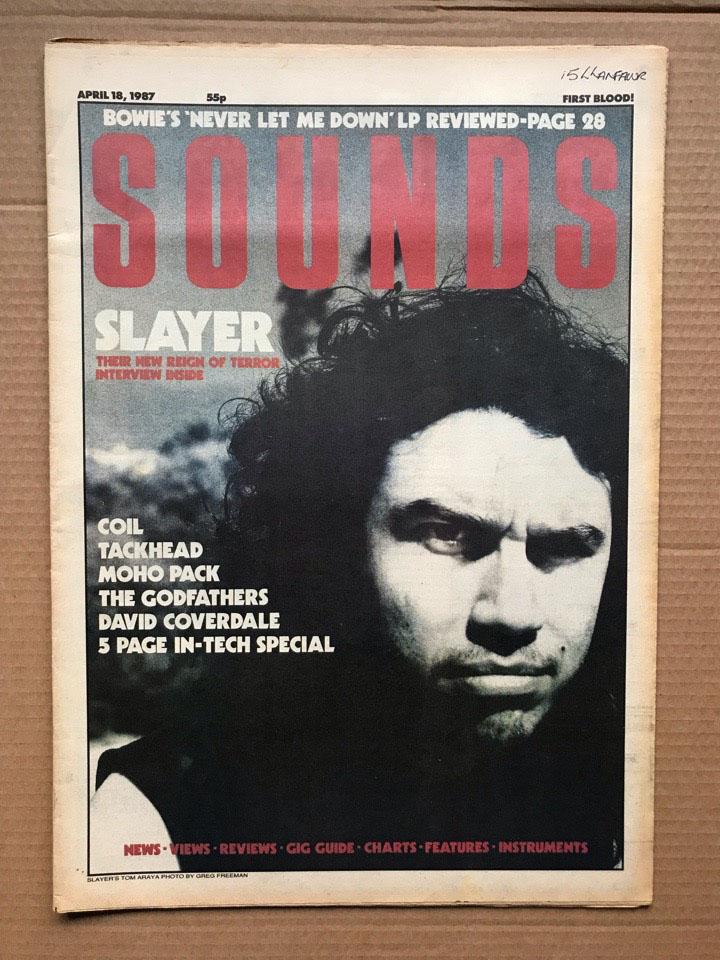 SLAYER SOUNDS