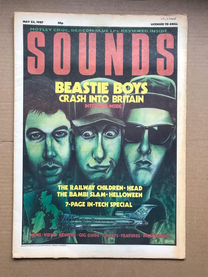 BEASTIE BOYS - SOUNDS - Magazine