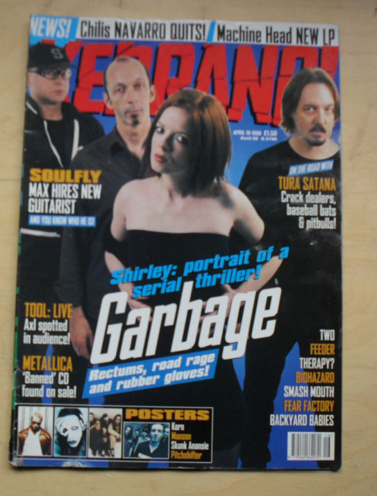 GARBAGE - KERRANG NO.695