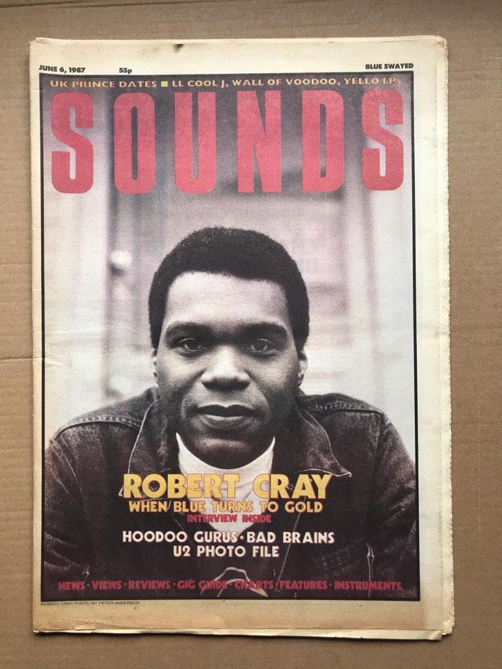 ROBERT CRAY - SOUNDS - Magazine