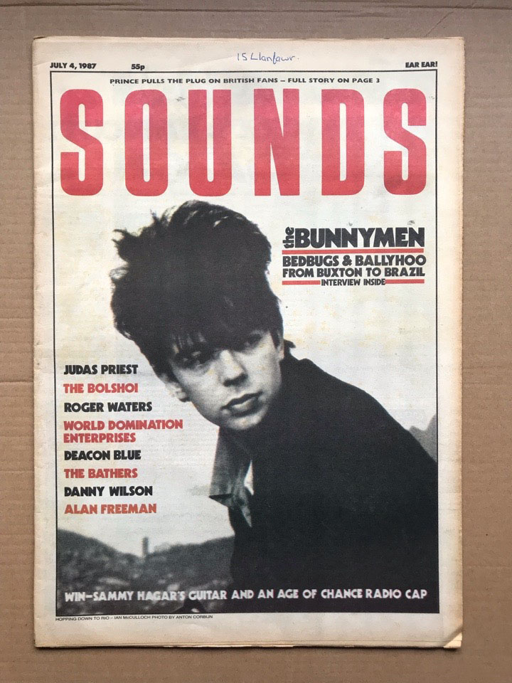 ECHO AND THE BUNNYMEN - SOUNDS - Magazine