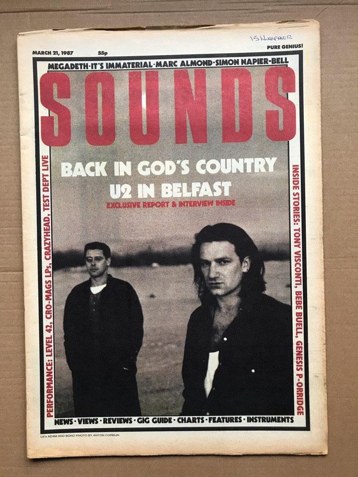 U2 - SOUNDS - Magazine