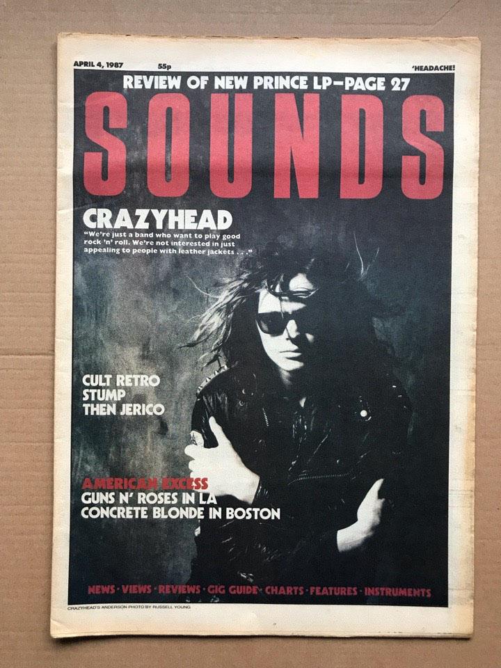 CRAZYHEAD - SOUNDS - Magazine