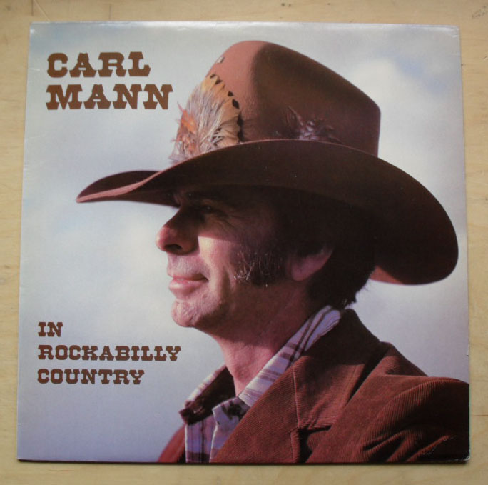 CARL MANN - In Rockabilly Country Record