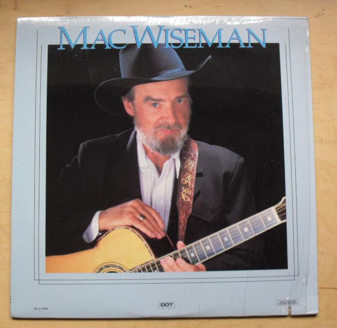 MAC WISEMAN - MAC WISEMAN