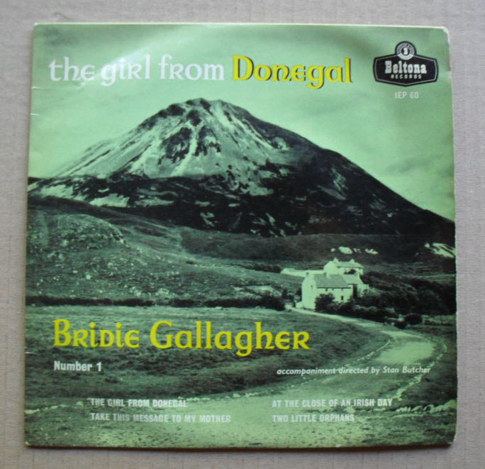 The Girl From Donegal - BRIDIE GALLAGHER