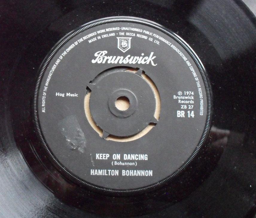 HAMILTON BOHANNON - KEEP ON DANCING