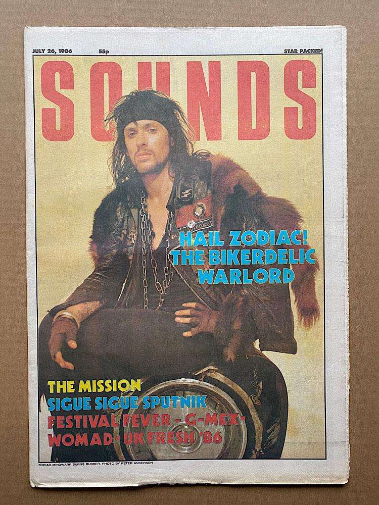 ZODIAC MINDWARP - SOUNDS