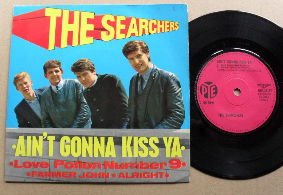 SEARCHERS - Ain't Gonna Kiss Ya Album