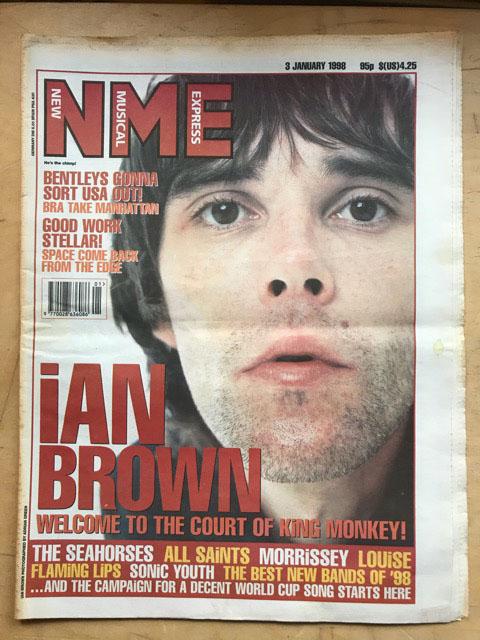 IAN BROWN - NME