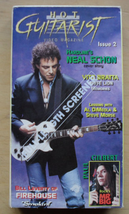 NEAL SCHON/OTHERS - HOT GUITARIST 2