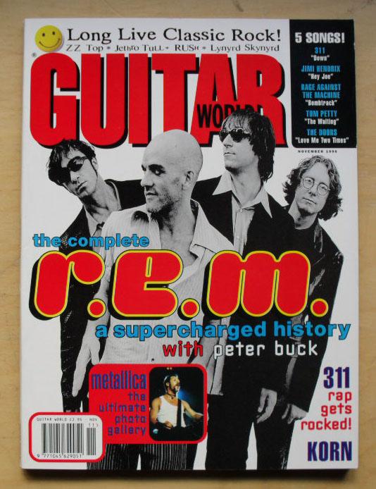 R.E.M. - GUITAR WORLD