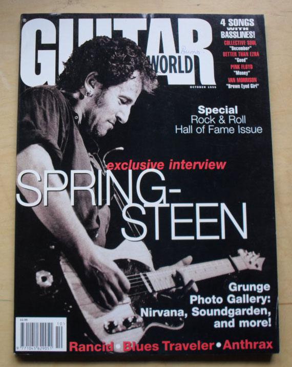 Guitar World Magazine October 1995