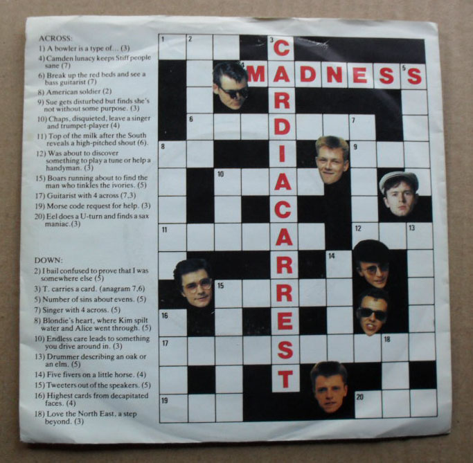 MADNESS - CARDIAC ARREST