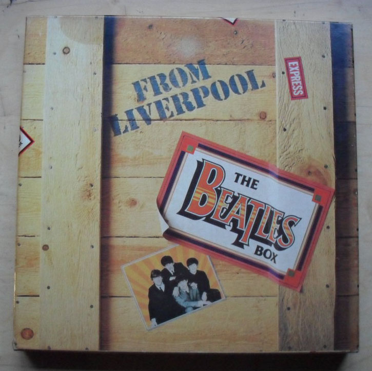 BEATLES - From Liverpool (box Set)