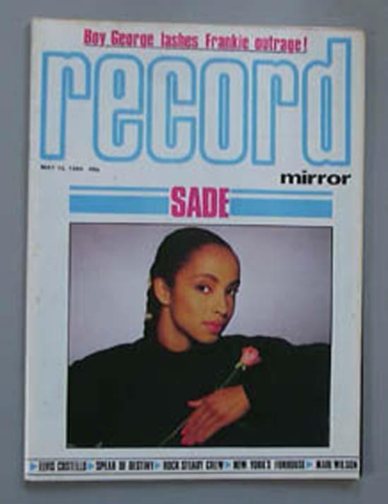 SADE - RECORD MIRROR