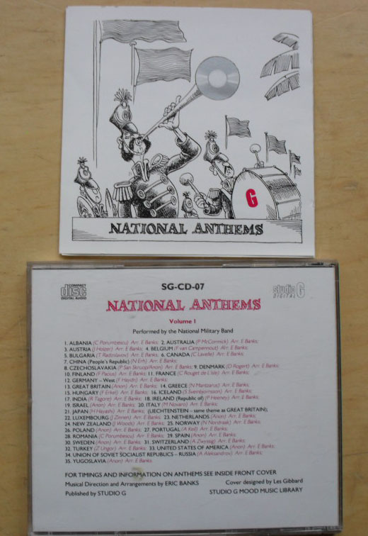 NATIONAL ANTHEMS - NATIONAL MILITARY BAND