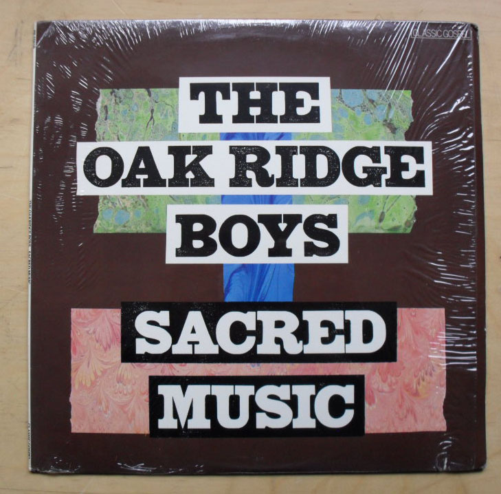 OAK RIDGE BOYS - SACRED MUSIC